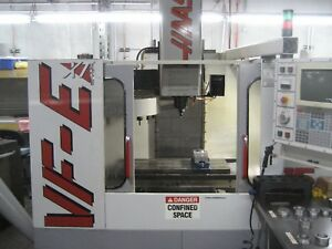Haas Mill Vf ext With 4th 5th Axis Cards Mfg Date 8 1998 Serial 15836