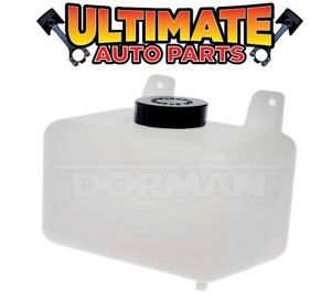 Dorman 603 001 Universal Radiator Coolant Overflow Reservoir Bottle Tank W Cap