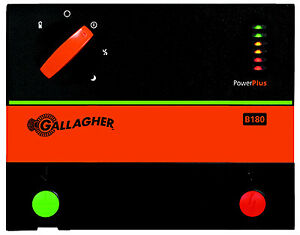 Gallagher North America Battery Electric Fence Charger B180 1 8 Joules G364504