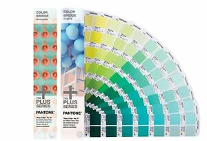 New In Box Pantone Color Bridge Set Coated And Uncoated Gp6102n Free Shipping
