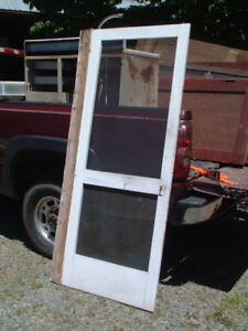 Antique 1800 Home Shed Barn Screen Door Architectural Salvage Reclaimed Primitiv