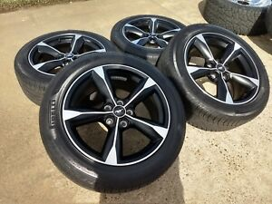 18 Ford Mustang Gt Oem Black 2018 2019 Wheels Rims Tires 10156 2015 2016 2017