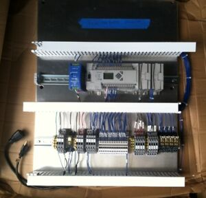 Electric Main Booster Micrologix 1400 Micron Mdp60 Power Supply Controller Box