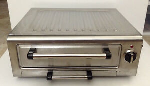 Cuisinart Piz 100 Stainless Steel Electric 12 inch Pizza Oven