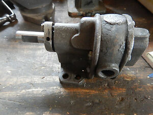 Vintage Brown And Sharpe No 1 Hydraulic Pump Machinist Tooling