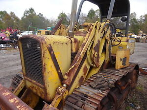 John Deere 4219t Diesel Engine Low Hours Turbo 4219 4 219 450b Crawler Dozer