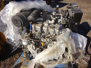 Perkins 404c 22t Turbo Diesel Engine Unused Shibaura N844 Cat 3024c Skid Steer