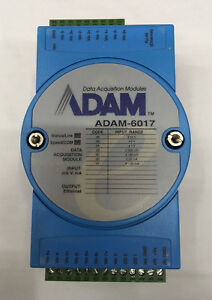 Adam Data Acquisition Modules Adam 6017 Module
