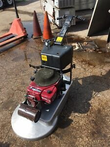 Pioneer Eclipse 24 High Speed Buffer burnisher W Propane Tank