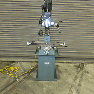 Arboga Geared Head Mill Drill Model A 6041 New 1993 Single Phase