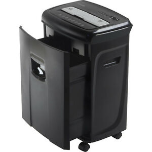 12 sheet Crosscut Paper Shredder And Credit Card Shredder With Pullout Basket