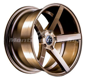 18x8 5x108 Jnc 026 Gloss Bronze Made For Ford Volvo