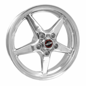 1994 2014 Mustang Race Star 92 Drag 17x4 50 5x4 50 25 4 Off Polished Wheel Rim