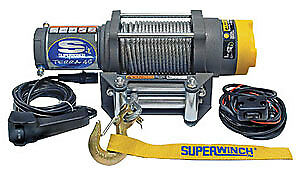 Super Winch Atv 4500 4500 Winch W Roller Fairlead