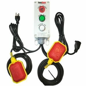Sump Alarm Indoor Outdoor High Water Alarm Pump Monitor W 33 Float Cord