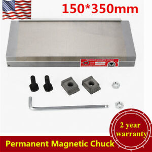 150 350mm 6 X 14 permanent Magnetic Chuck For Grinding Machine 100n 120n Usa
