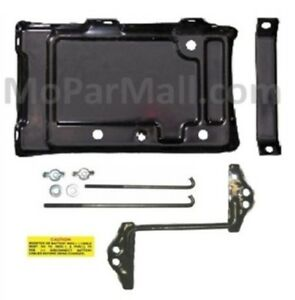 Battery Tray Hold Down Set For 1962 1965 Mopar B Body