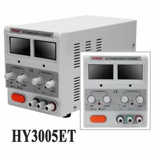 Hy3005et Dc Programmable 230v Ac Adjustable Dc Power Supply Digital Us Plug Wi