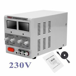 Precision Variable Adjustable Dc Triple Linear Power Supply Digital Regulated Wi