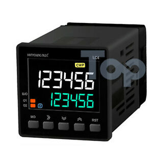 Hanyoung Nux Lcd Counter Timer Lc4 p62ca 48x48mm 6 Digits 2 stage Output Rs485