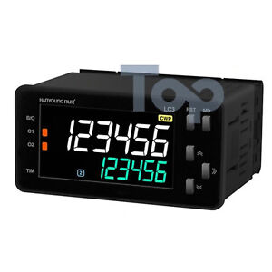 Hanyoung Nux Lcd Counter Timer Lc3 p61ca 96x48mm 6 Digits 1 stage Output Rs485