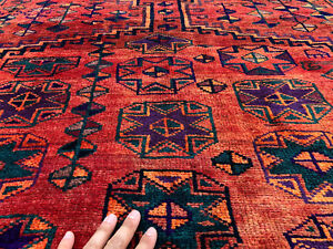 5x8 Caucasian Persian Rug Antique Hand Knotted Wool Foundation Teal Rugs 5x7 Ft