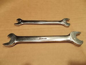 Snap on Tools Double Open End Speed Wrenches Rs1214a Rs1618b
