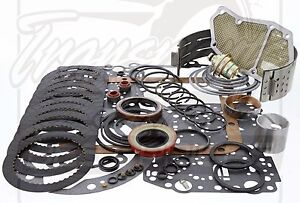 Ford C4 Raybestos Gen 2 Race Performance Transmission Rebuild Kit L2 1974 81