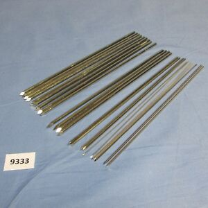 Richards Surgical Lot Of Threaded And Non Threaded Guide Wire