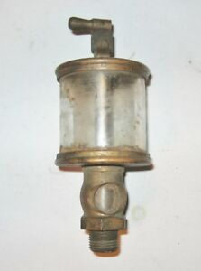 Lunkenheimer No 2 Fig 1300 Sentinal Brass Hit And Miss Oiler