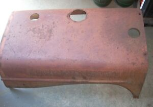 Allis Chalmers Wd Tractor Hood 70226836