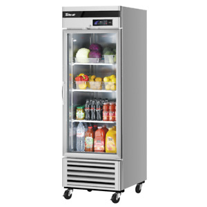 Turbo Air Tsr 23gsd n6 Super Deluxe Single Section 27 Glass Door Refrigerator