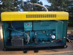 Onan 15kw Generator 1 Or 3 Phase 120 208v 428 Hours 18 75kva Cover W Trailer