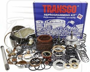 Ford C4 Raybestos High Performance Deluxe Transmission Rebuild Transgo Kit 74 81