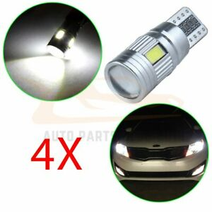 4x White 921 T15 T10 194 Error Free Smd Led Cree Reverse Back Up Light For Ford