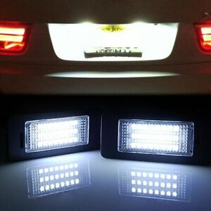 Error Free Led License Plate Light For Bmw 135i 325i 328i 335i 528i 535i X3 X5