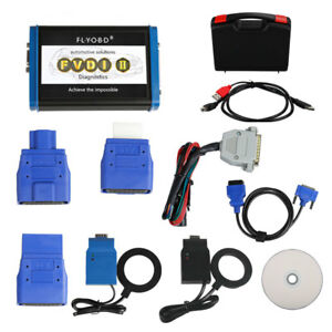 Fvdi2 Commander Diagnostic With Free Obd Termination Software J2534 Softwares