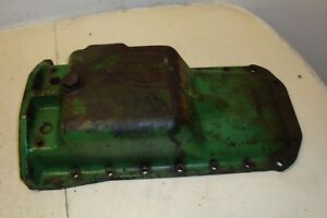 1961 John Deere 2010 Tractor Cast Oil Pan