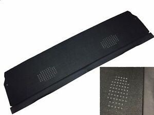 1968 72 Chevelle Monte Carlo Package Tray Panel Board Black Mesh Dual Speaker