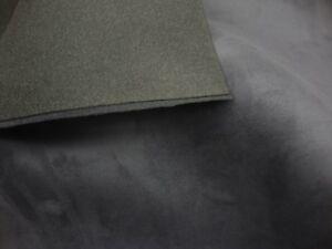 Foam Charcoal Suede Stretch Headlining Foam Backed Fabric 60 Wide 3 Yards