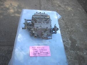 Ford Fe 1958 1976 352 428 Four Barel Carb Autolite 4100 Edc 1958 Fairlane