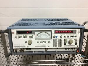 Wandef Goltermann Spm19 Y 0007 Level Meter 50hz 25mhz Modified 155 a 174