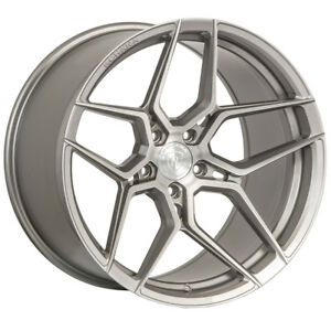 19 Rohana Rfx11 Titanium Forged Concave Wheels Rims Fits Ford Mustang Gt