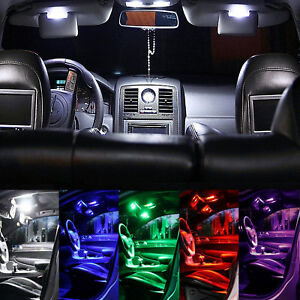 Vw T6 Interior Lights Package Kit 32 Led Smd White Red Blue Pink Green
