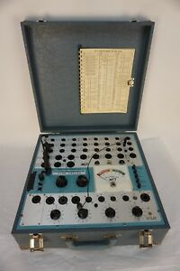 Vintage Dynascan Dyna jet Dynamic Mutual Conductance Tube Tester Model 707