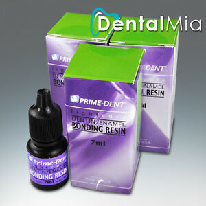 Pack Of 3 Prime Dent Light Cure One Step Dentin enamel Bonding Adhesive