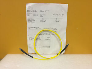 Iw Microwave Kps 1501 480 kps Dc To 40 Ghz 2 4mm m m Rf Test Cable New