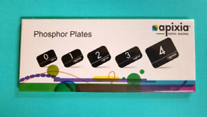 Phosphor Plates Apixia 2 Digital Imaging 4 Pieces No 10802 New Fda Approved