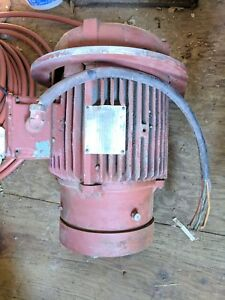 Westinghouse 10 Hp 1745 Rpm 230 460 Volts 3 Phase Electric Motor