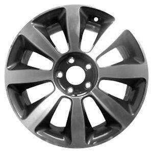18 X 7 5 8 Spoke Oem Kia Alloy Wheel Machined And Dark Charcoal Metallic 74653